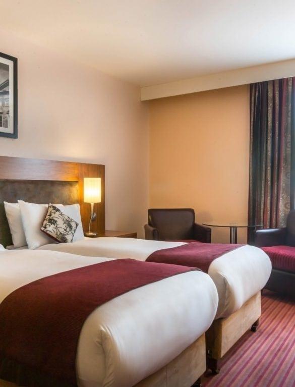 Maldron Hotel Parnell Square Dublin Twin Room