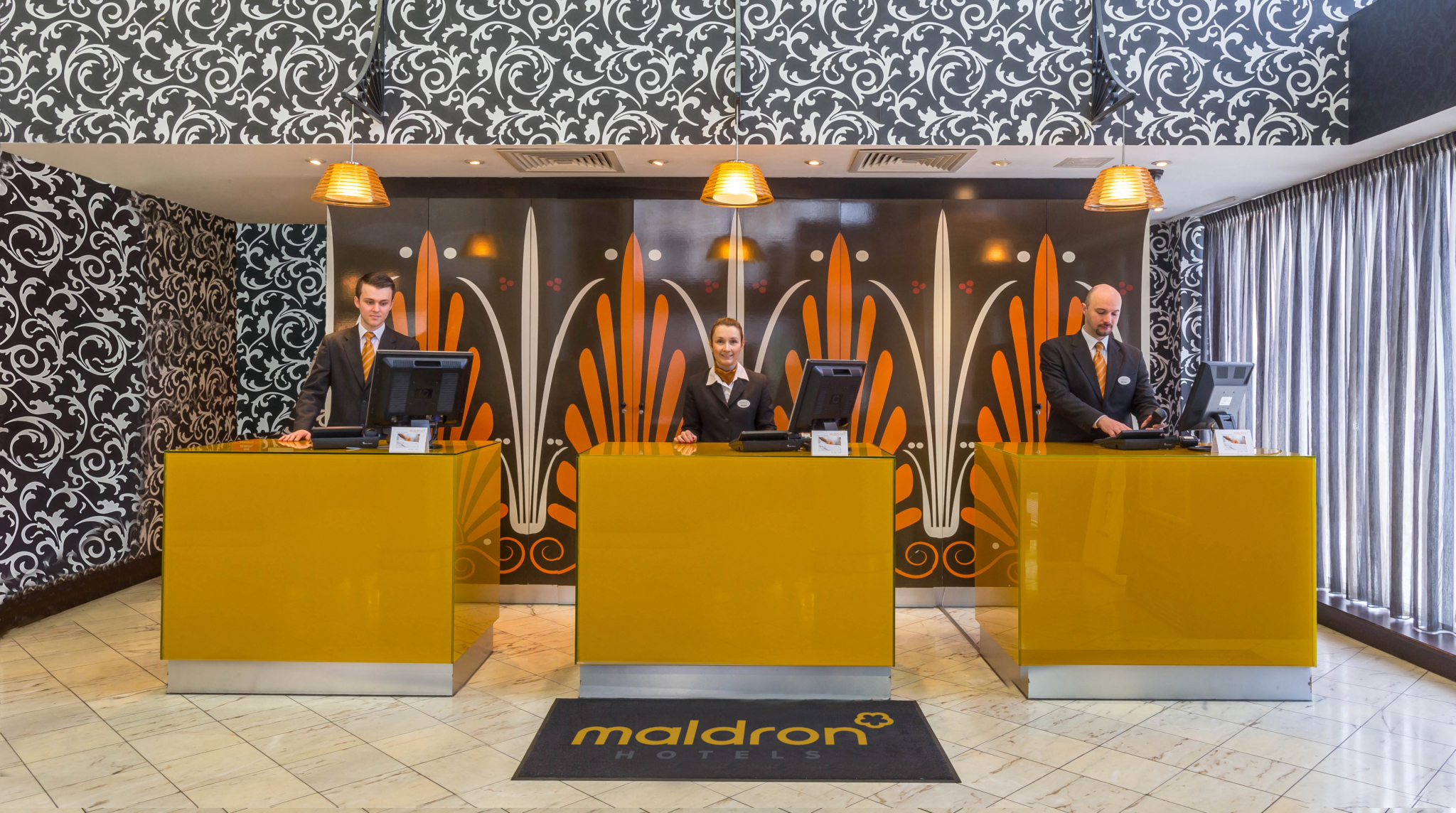 friendly-reception-team-look-forward-to-welcoming-you-to-Maldron-Hotel-Parnell-Square-Dublin
